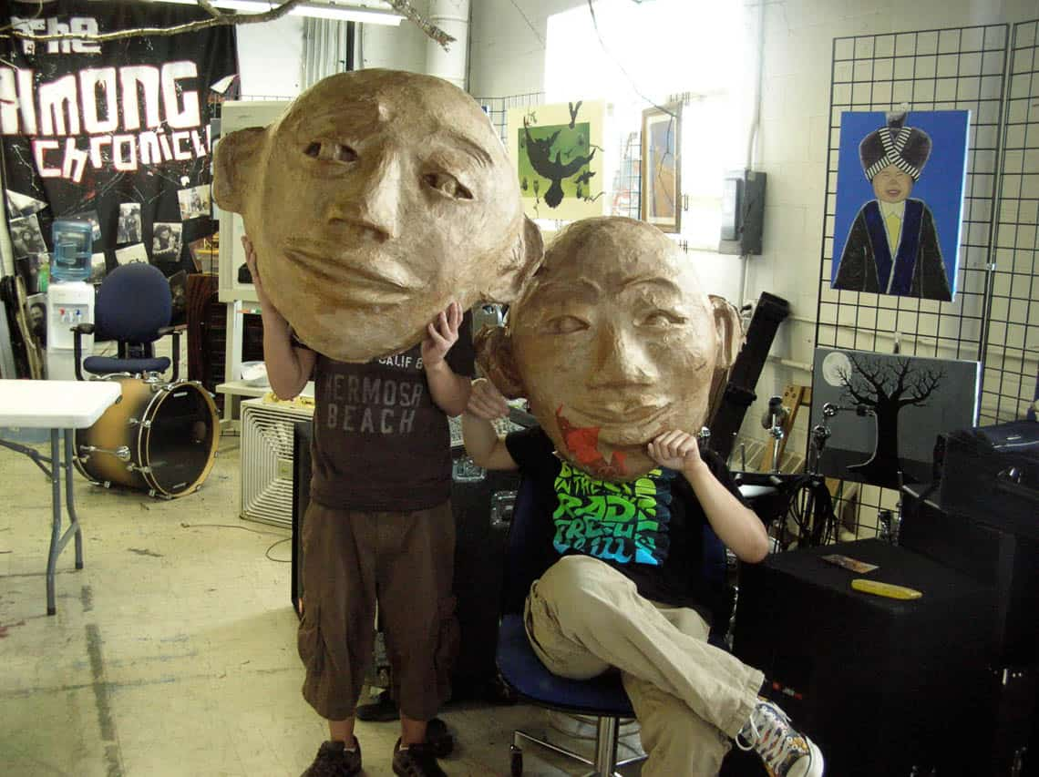 big-heads by Malia Burkhart