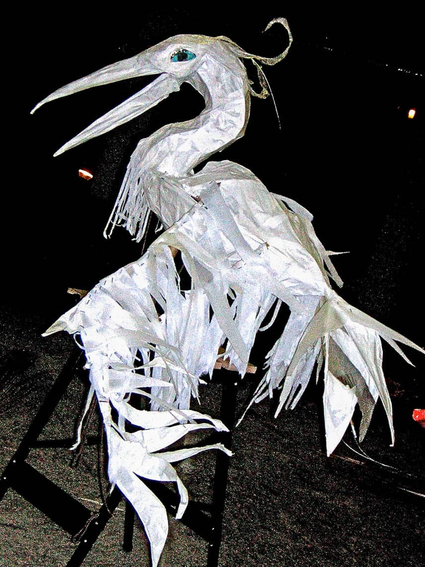 finished-heron-lantern by Malia Burkhart